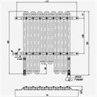 Радиатор масляный 150.08.046-2