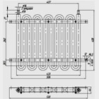 Радиатор масляный 41.035-1013010-1