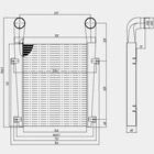 Охладитель наддувочного воздуха 64290-1323010-007