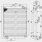 Радиатор водяной 183Д1-1301010