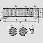 Жидкостно-масляный радиатор из коррозионностойкой стали 260-1013020А